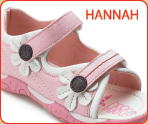 Chatterbox Girls Sandal, Hannah