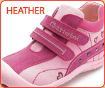 Chatterbox Girls Shoe, Heather